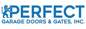logo PERFECT GARAGE DOOR AND GATES, INC VENTURA COUNTY